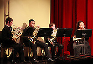 The French Horn Quartet performs during the Fall Band Preview at Stivers School for the Arts in Dayton, Monday, November 19, 2012..