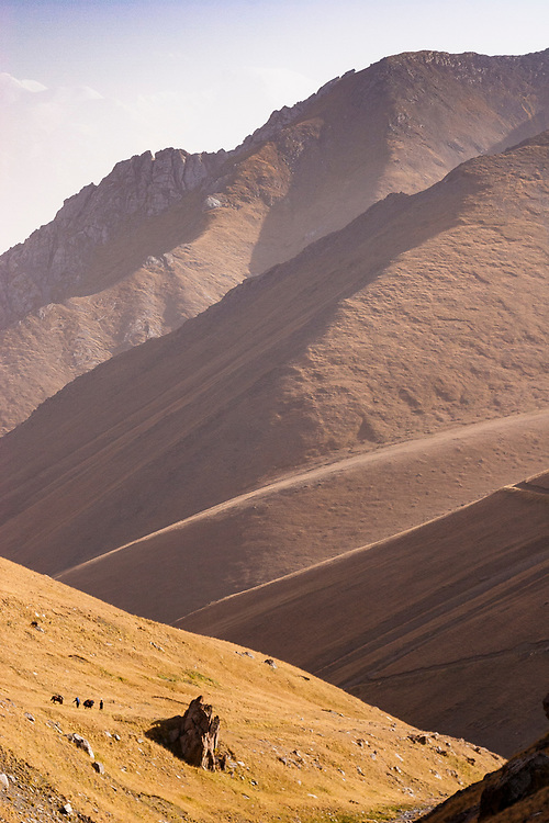 Part of the original Silk Road through the High Pamirs