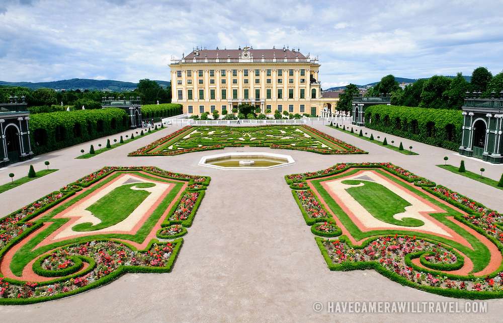 Privy Garden at Schonbrunn Palace