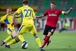 Mike Frantz of SC Freiburg during 2nd Leg football match between NK Domzale and FC Freiburg in 3rd Qualifying Round of UEFA Europa League 2017/18, on August 3rd, 2017 in SRC Stozice, Ljubljana, Slovenia. Photo by Urban Urbanc / Sportida