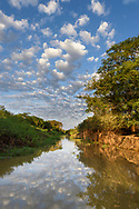Morgen bei einer Flusslandschaft im Pantanal, Brasilien<br /> <br /> Morning at a river landscape in the Pantanal, Brazil