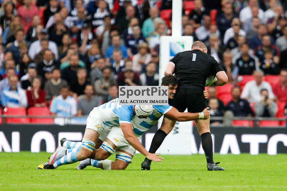 WEMBLEY, ENGLAND - SEPTEMBER 20:  Tony Woodcock of New Zealand during the 2015 Rugby World Cup Pool C match between New Zealand and Argentina at Wembley Stadium on September 20, 2015 in London, England. (Credit: SAM TODD | SportPix.org.uk)