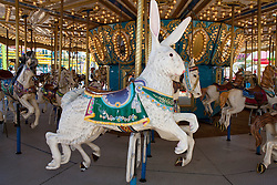 Carousel at the California Mid State Fair, Paso Robles, California, United States of America