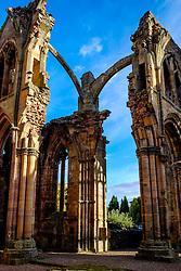Melrose Abbey, Melrose. Scottish Borders<br /> <br /> (c) Andrew Wilson | Edinburgh Elite media