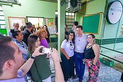 Porto Alegre, RS 20/02/2020: O prefeito Nelson Marchezan Júnior e o secretário municipal de Saúde, Pablo Stürmer, visitaram nesta quinta-feira (20) a Unidade de Saúde Moradas da Hípica, no bairro Aberta dos Morros. Desde a segunda semana de janeiro deste ano, o posto funciona no horário estendido, das 7h às 19h. A unidade atende cerca de 11.500 mil pessoas da região. Foto: Jefferson Bernardes/PMPA