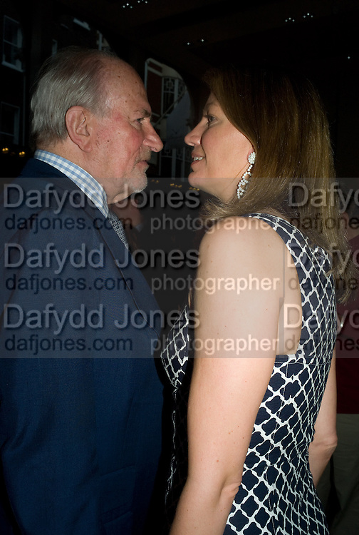 CLAUS VON BULOW; COSIMA VON BULOW, Book launch party for  Sashenka, a romantic novel set in St Petersburg following a society girl who becomes involved with the Communist Party. By Simon Sebag-Montefiore. Asprey. New Bond St. London. 1 July 2008.  *** Local Caption *** -DO NOT ARCHIVE-© Copyright Photograph by Dafydd Jones. 248 Clapham Rd. London SW9 0PZ. Tel 0207 820 0771. www.dafjones.com.