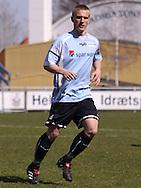 FODBOLD: Peter Hartelius (Helsingør) under kampen i Danmarksserien, pulje 1, mellem Elite 3000 Helsingør og Boldklubben Frem den 25. april 2010 på Helsingør Stadion. Foto: Claus Birch