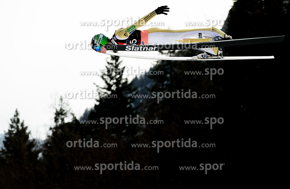 Domen Prevc of Slovenia  during the Ski Flying Hill Individual Competition on Day Two of FIS Ski Jumping World Cup Final 2017, on March 24, 2017 in Planica, Slovenia. Photo by Vid Ponikvar / Sportida
