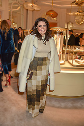 Daniella Helayel at the reopening of the Cartier Boutique, New Bond Street, London, England. 31 January 2019. <br /> <br /> ***For fees please contact us prior to publication***