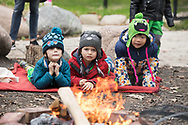 Stories around the fire at University of Chicago Laboratory Schools<br /> <br /> (photo by Anne Ryan)