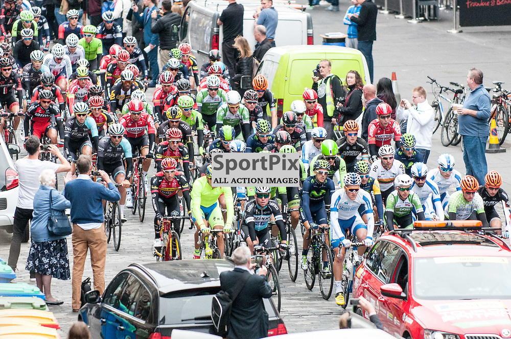 Action from Stage 4 of the Aviva Tour of Britain, 9 September 2015. (c) Paul J Roberts / Sportpix.org.uk