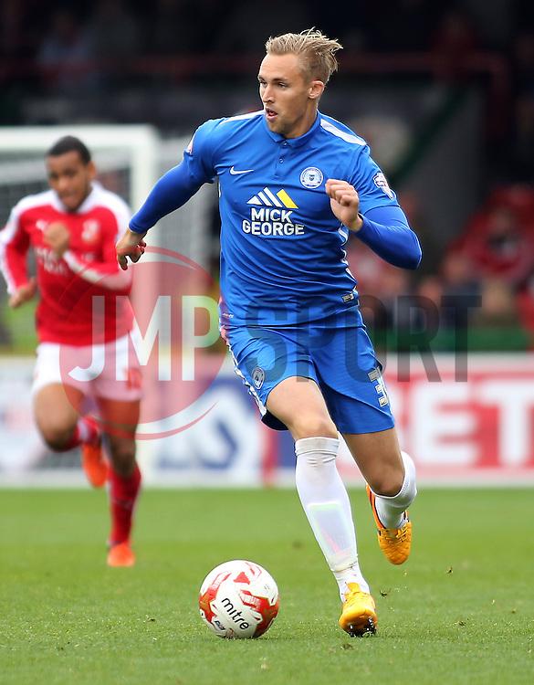 Jack Collison of Peterborough United on the ball - Mandatory byline: Joe Dent/JMP - 07966 386802 - 10/10/2015 - FOOTBALL - County Ground - Swindon, England - Swindon Town v Peterborough United - Sky Bet League One