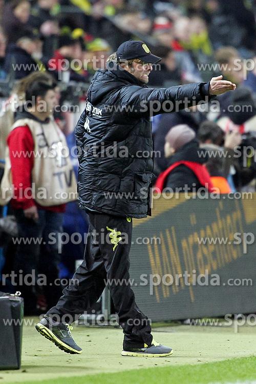 04.02.2011,  Signal Iduna Park, Dortmund, GER, 1.FBL, Borussia Dortmund vs Schalke 04, 21. Spieltag, im Bild: Juergen Klopp (Trainer Dortmund)  EXPA Pictures © 2011, PhotoCredit: EXPA/ nph/  Mueller       ****** out of GER / SWE / CRO  / BEL ******