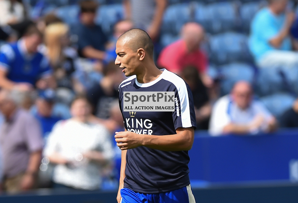 New signing Gokhan Inler who starts on the bench for Leicester (c) Simon Kimber | SportPix.org.uk