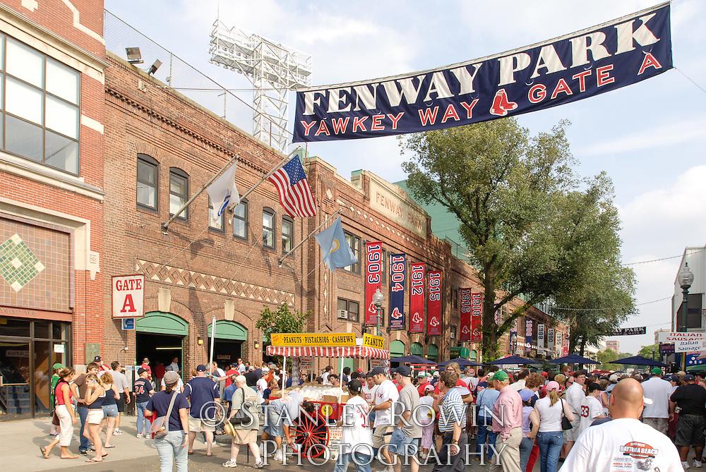 Yawkey Way, Boston, Fenway Park, Red Sox, Sports,