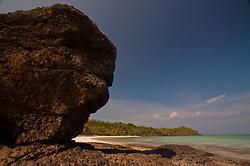 Devil's Rock at Devil's Beach, Turtle Island, Yasawa Islands, Fiji