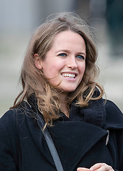 SAND HURST - UK - 11- DEC-2015: Kim Sears, wife of Tennis champion Andy Murray attends the Sovereigns Parade at the Royal Military College, Sandhurst to watch her brother (not pictured) pass out after his officer training completed.<br /> Photograph by Ian Jones