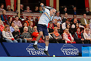 Mansour Bahrami during the Champions Tennis match at the Royal Albert Hall, London, United Kingdom on 6 December 2018. Picture by Ian Stephen.