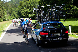 LUND Anders of Saxo Bank during 1st Stage (164 km) at 19th Tour de Slovenie 2012, on June 14, 2012, in Novo Mesto, Slovenia. (Photo by Urban Urbanc / Sportida)