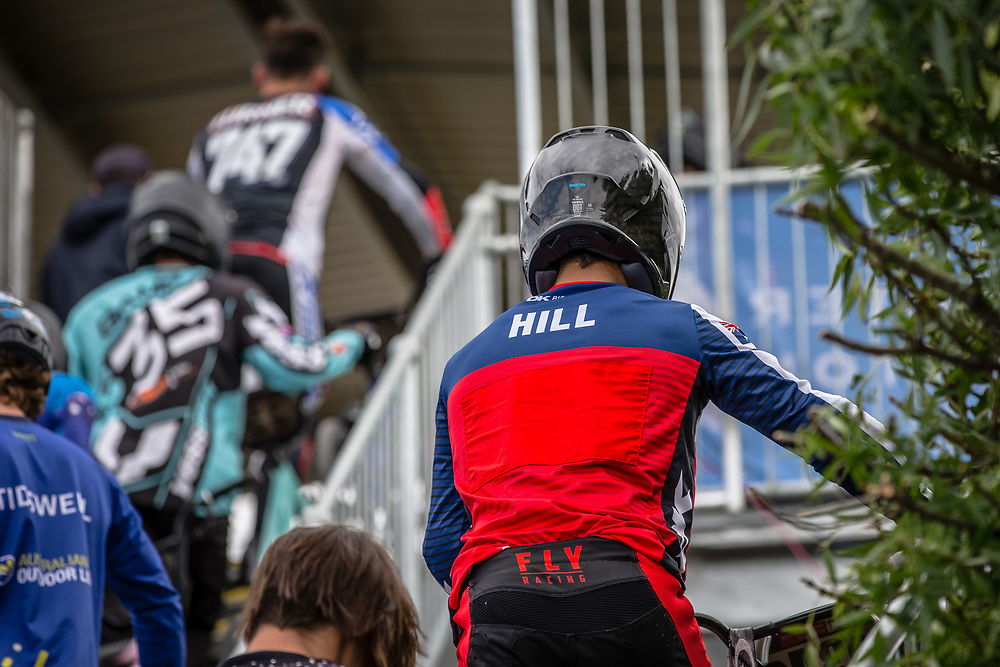 at Round 2 of the 2020 UCI BMX Supercross World Cup in Shepparton, Australia.