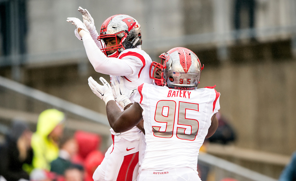 The Rutgers Scarlet Knights take on the Wisconsin Badgers at Camp Randall Stadium in Madison, WI on Saturday afternoon, October 31, 2015.<br /> Ben Solomon/Rutgers Athletics