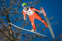 William Rhoads of the USA during the Ski Flying Hill Individual Qualification at Day 1 of FIS Ski Jumping World Cup Final 2018, on March 22, 2018 in Planica, Ratece, Slovenia. Photo by Ziga Zupan / Sportida