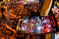 Roanoke Pinball Museum, Downtown Roanoke, Virgnia USA.