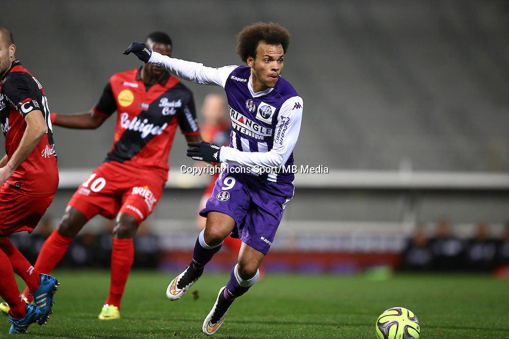 Martin Braithwaite  - 20.12.2014 - Toulouse / Guingamp - 19eme journee de Ligue 1 <br /> Photo : Manuel Blondeau / Icon Sport