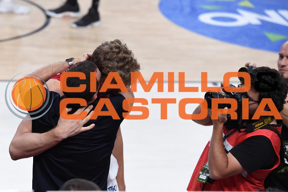 Proli Livio, Kuzminskas Mindaugas<br /> Dolomiti Energia Trento - EA7 Emporio Armani Playoff Finale gara 6<br /> Legabasket serieA 2017-2018<br /> Trento  15/06/2018<br /> Foto Ciamillo-Castoria /Thomas Barea