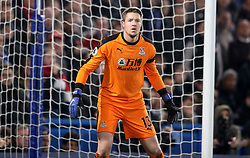 Crystal Palace goalkeeper Wayne Hennessey during the Premier League match at Stamford Bridge, London.