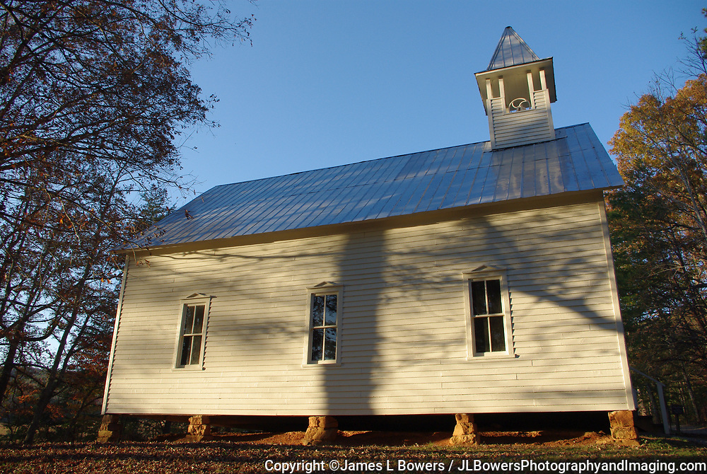 Old Methodist Church-Cades Cove, Tennessee, Great Smoky Mountains National Park