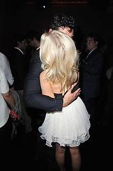 DAVID GANDY & MOLLIE KING at a party to launch Esquire magazine's June issue hosted by new editor Alex Bilmes at Sketch, Conduit Street, London on 5th May 2011.