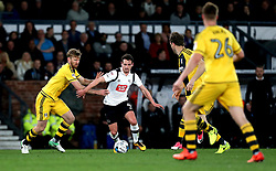 Craig Bryson of Derby County takes on Tim Ream of Fulham - Mandatory by-line: Robbie Stephenson/JMP - 04/04/2017 - FOOTBALL - Pride Park Stadium - Derby, England - Derby County v Fulham - Sky Bet Championship