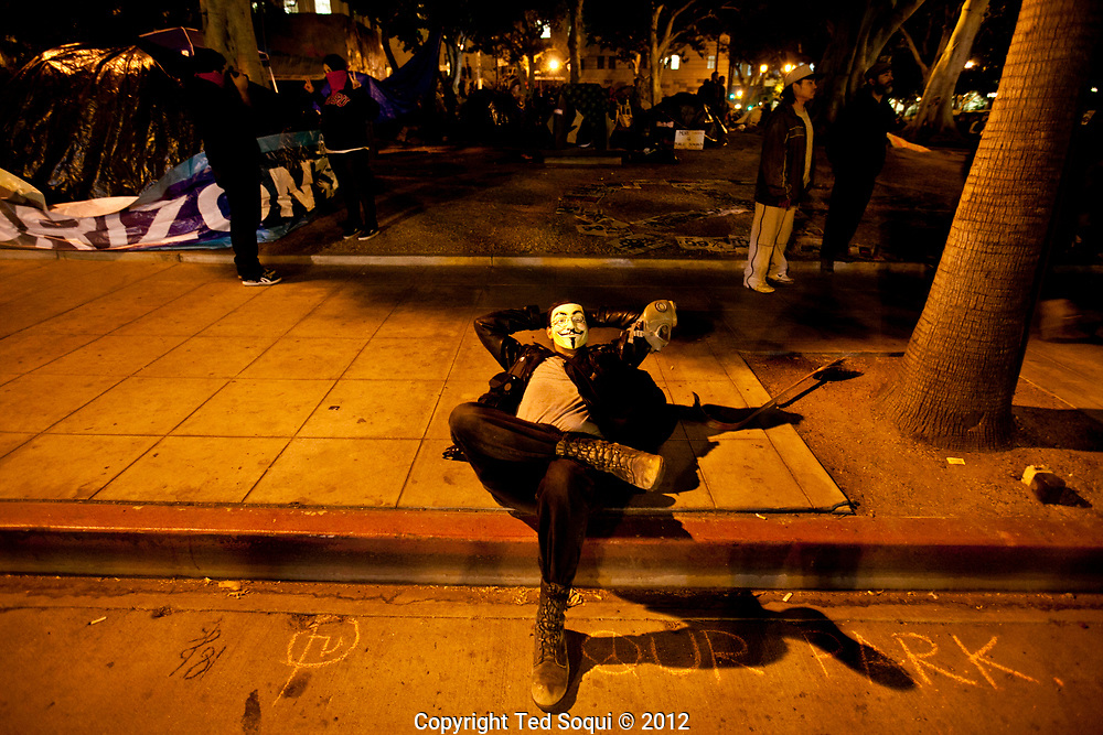 Occupy LA photos for Slake Magazine by Ted Soqui © 2012