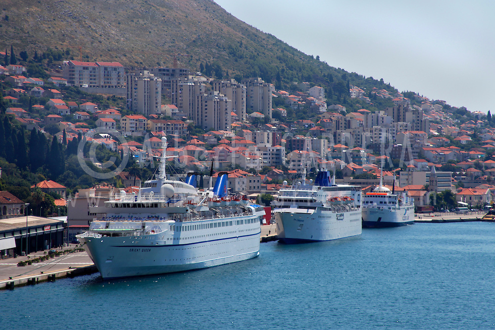 Alberto Carrera, Cruises Boats, Dubrovnik, Dalmatia,Adriatic Sea, Croatia, Europe