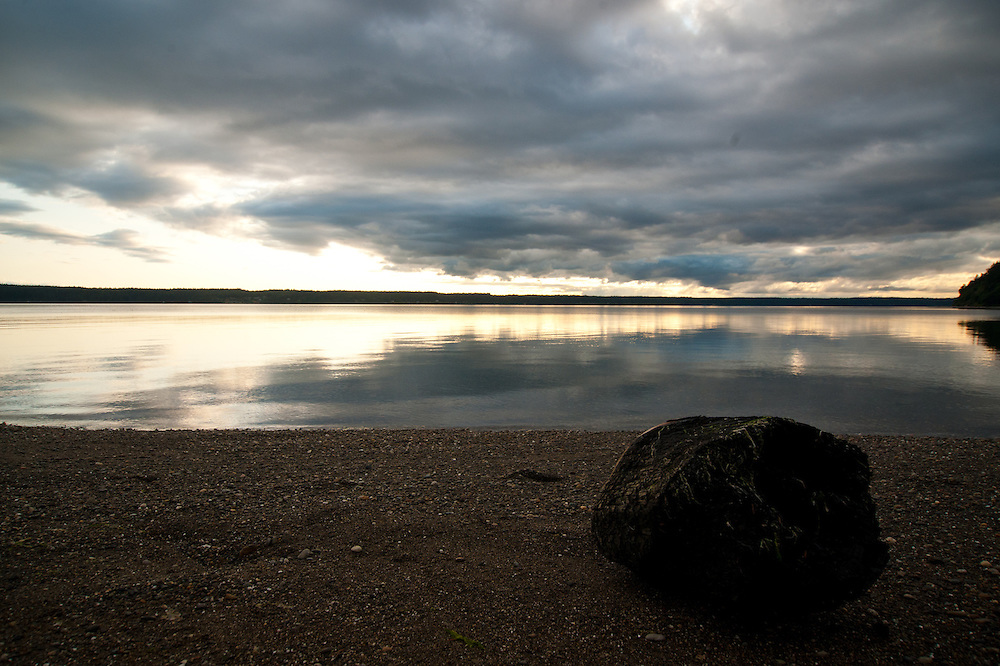 The Washington coast near Gig Harbor.