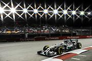 September 18-21, 2014 : Singapore Formula One Grand Prix - Lewis Hamilton (GBR), Mercedes Petronas
