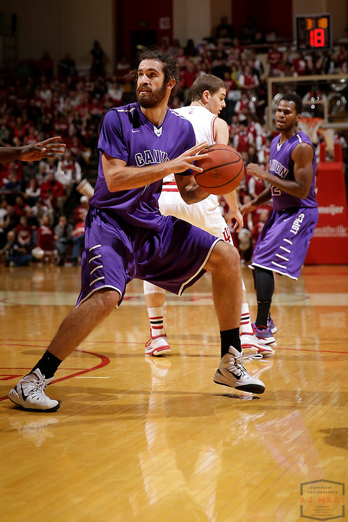 Grand Canyon forward Daniel Alexander as Grand Canyon played Indiana in an NCAA college basketball game in Bloomington, Ind., Saturday, Dec. 13, 2014. (AJ Mast/Photo)