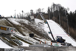 01.02.2019, Energie AG Skisprung Arena, Hinzenbach, AUT, FIS Weltcup Ski Sprung, Damen, Qualifikation, im Bild Skisprunganlage Hinzenbach // Skisprunganlage Hinzenbach during the woman's Qualification Jump of FIS Ski Jumping World Cup at the Energie AG Skisprung Arena in Hinzenbach, Austria on 2019/02/01. EXPA Pictures © 2019, PhotoCredit: EXPA/ Reinhard Eisenbauer