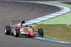 Juri Vips (EST) (Prema Powerteam) beim ADAC Formel 4 Rennen am Hockenheimring.  / 300916<br /> <br /> <br /> ***ADAC Formula 4 race on October 1, 2016 in Hockenheim, Germany.***
