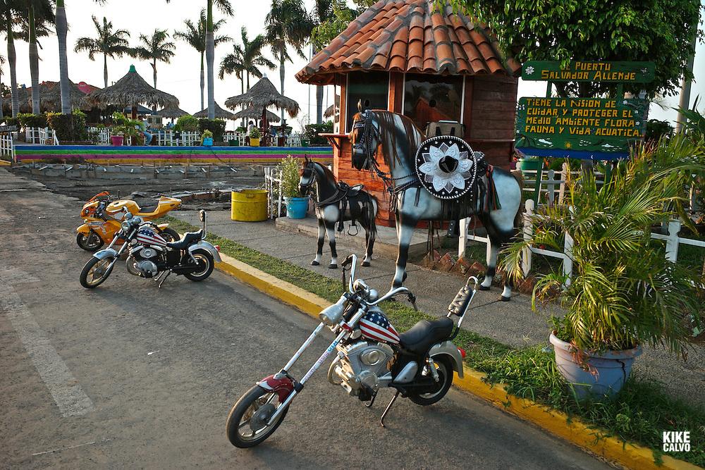 Puerto Salvador Allende.lakefront of Lake Managua, also known as Xolotlán Lake.