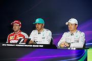 March 27-29, 2015: Malaysian Grand Prix - Sebastian Vettel (GER), Ferrari, Lewis Hamilton (GBR), Mercedes, Nico Rosberg  (GER), Mercedes