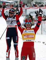 Justina Kowalczyk (POL) und Marit Bjoergen (NOR) (Pascal Muller/EQ Images)