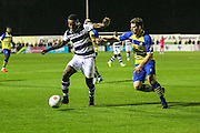 Forest Green Rovers Dale Bennett(6) in early action during the Vanarama National League match between Solihull Moors and Forest Green Rovers at the Automated Technology Group Stadium, Solihull, United Kingdom on 25 October 2016. Photo by Shane Healey.