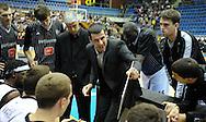 KOSARKA, BEOGRAD, 21. Nov. 2010. -  Trener Partizana Vlada Jovanovic. Utakmica 13. kola NLB lige  u sezoni (2010/2011) izmedju Partizana i Crvene zvezde. Foto: Nenad Negovanovic