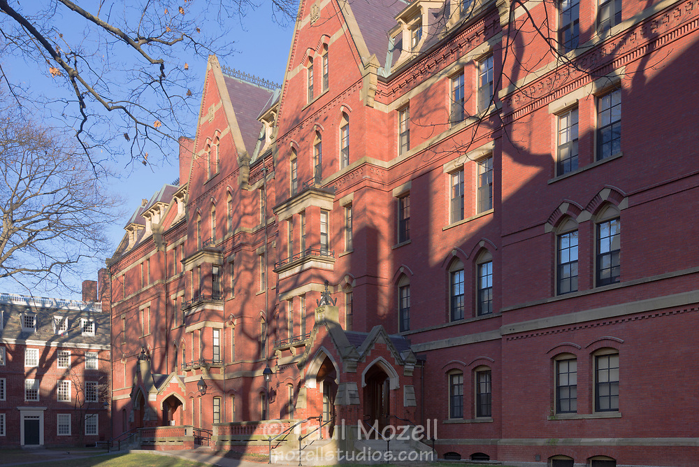 Dormitory building at Harvard University