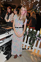 MARY CHARTERIS at the launch of the new John Lewis Beauty Hall, John Lewis, Oxford Street, London on 8th May 2012.
