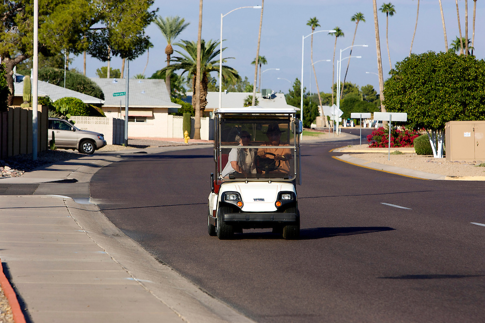 UNITED STATES-SUN CITY- Sun City, a retirement community in Arizona. PHOTO: GERRIT DE HEUS .VERENIGDE STATEN-SUN CITY-  Sun City. PHOTO GERRIT DE HEUS