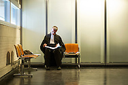 Foto: Gerrit de Heus. Den Haag, 28-09-2015. Advocaat Jerry Kleisen bereid zich voor op een rechtszaak..
