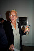 PETER BEARD, Damien Hirst party to preview his exhibition at Sotheby's. New Bond St. London. 12 September 2008 *** Local Caption *** -DO NOT ARCHIVE-© Copyright Photograph by Dafydd Jones. 248 Clapham Rd. London SW9 0PZ. Tel 0207 820 0771. www.dafjones.com.